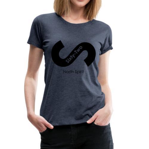 Logost premier logo de la marque lifesty Sixty-two - T-shirt Premium Femme