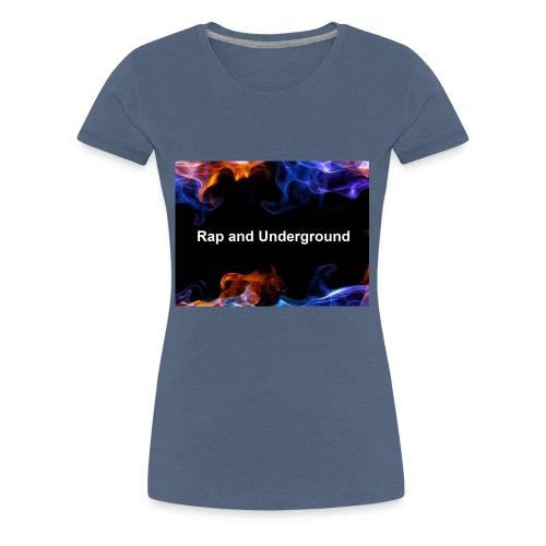Rap and underground logo - Frauen Premium T-Shirt