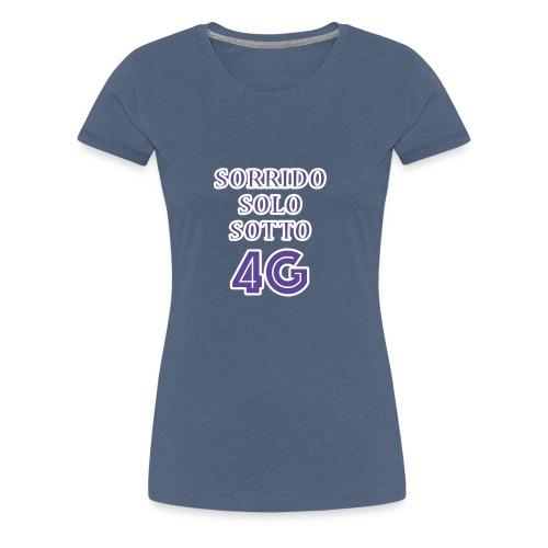 Sorrido in 4G - Maglietta Premium da donna