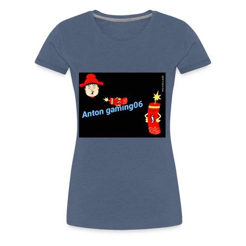 Anton gaming06 - Premium-T-shirt dam