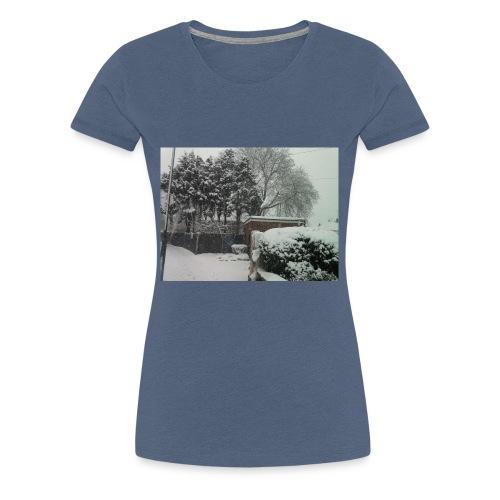 Snow - Women's Premium T-Shirt