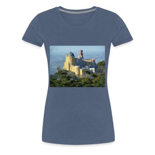 Schloss - Frauen Premium T-Shirt
