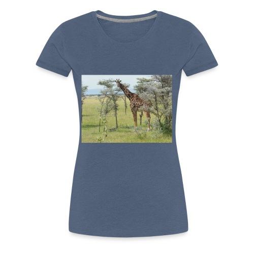 Giraff - Premium-T-shirt dam