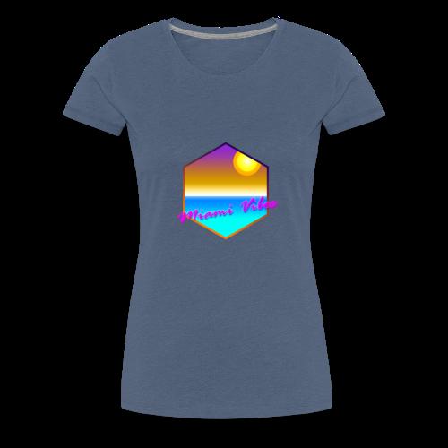 Miami Vibes - Frauen Premium T-Shirt
