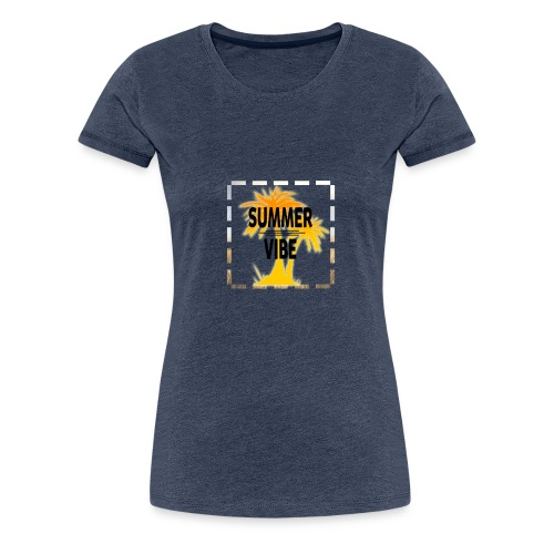 Summer Vibe ( Sommer Stimmung) - Frauen Premium T-Shirt