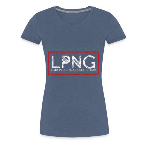 LPNG Logo LostPlaceNextGeneration - Frauen Premium T-Shirt