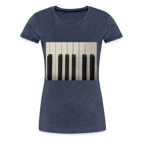 Piano T-Shirt - Frauen Premium T-Shirt