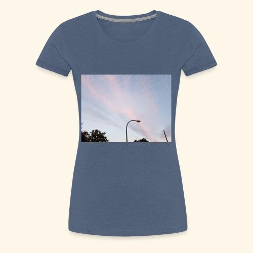Abendhimmel - Frauen Premium T-Shirt