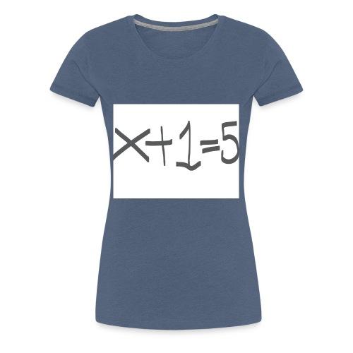 Easy Maths - Frauen Premium T-Shirt