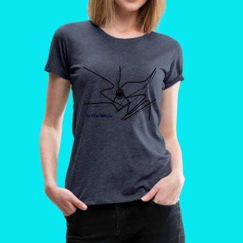 DWK3RUN Almighty lines - Frauen Premium T-Shirt