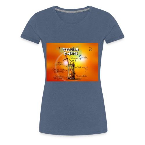 tequila sunrise - Frauen Premium T-Shirt