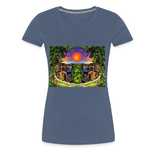 ArtBulgaria Nessebaar Kopi4 - Frauen Premium T-Shirt