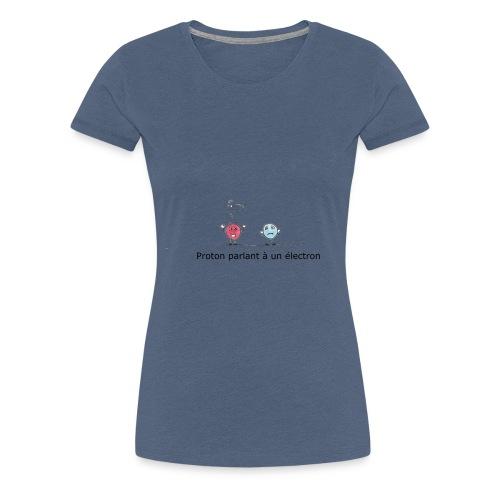 electron - T-shirt Premium Femme