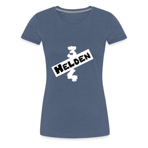 Logo Schriftzug hell - Frauen Premium T-Shirt