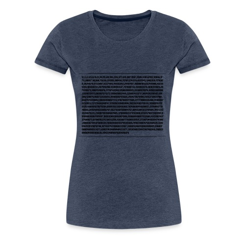 Fibonacci Shirt - Women's Premium T-Shirt