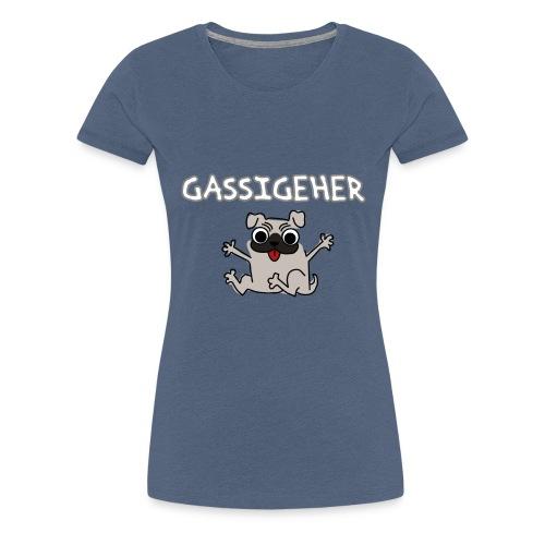 FatMonkey Designs Gassigher - Frauen Premium T-Shirt