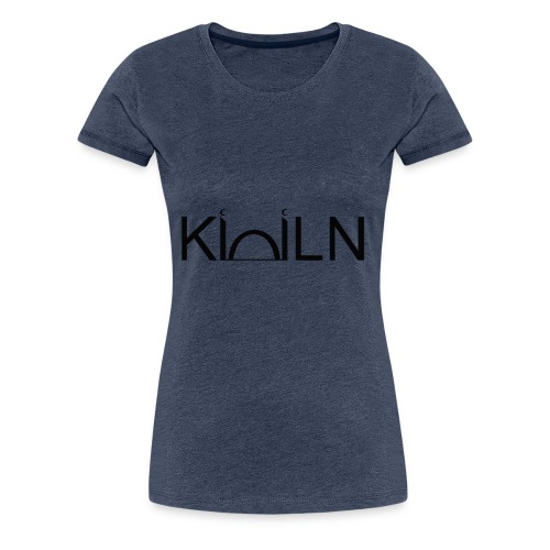 Logo Moschee Köln schwarz auf weiß - Frauen Premium T-Shirt