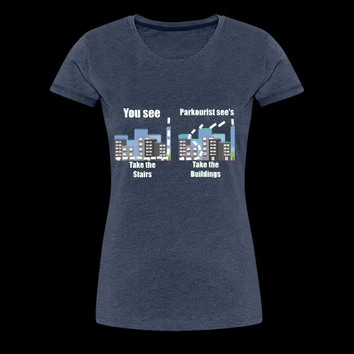you see - Women's Premium T-Shirt