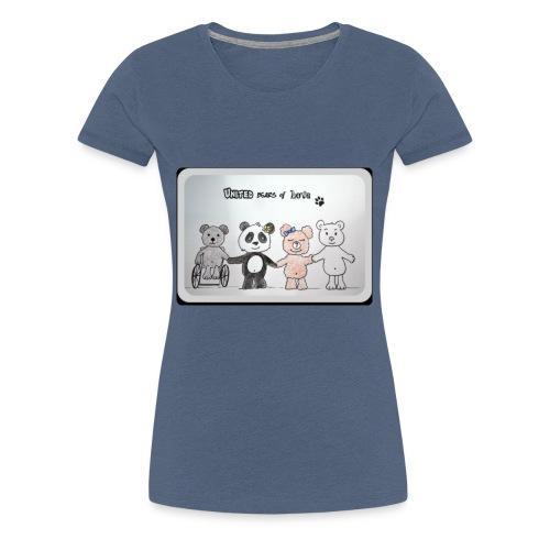 United bears of love - T-shirt Premium Femme