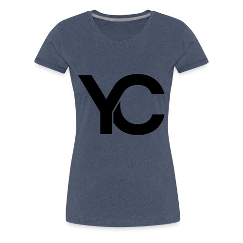 YC Black Logo - Women's Premium T-Shirt