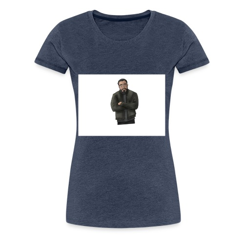 Ahmad Patron Miri Motiv - Frauen Premium T-Shirt