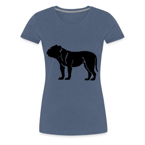 Bulldog - Frauen Premium T-Shirt
