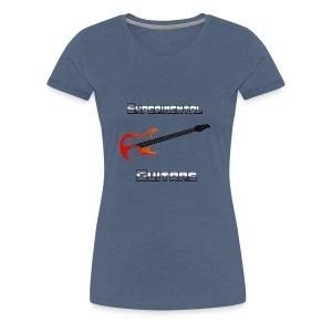 Experimental Guitars logo-metallic - Women's Premium T-Shirt