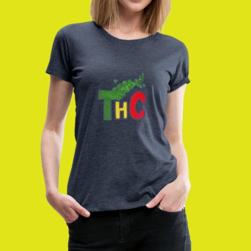 THC logo one - Maglietta Premium da donna