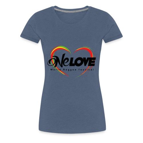 LOGO ONE LOVE 2016 - Maglietta Premium da donna