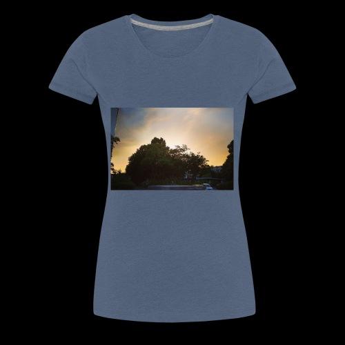 Sonnenstrahlen - Frauen Premium T-Shirt