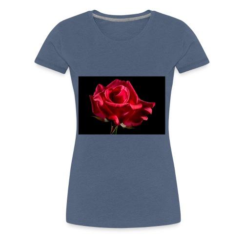T-Shirt Rose Geschenk Geschenkidee - Frauen Premium T-Shirt