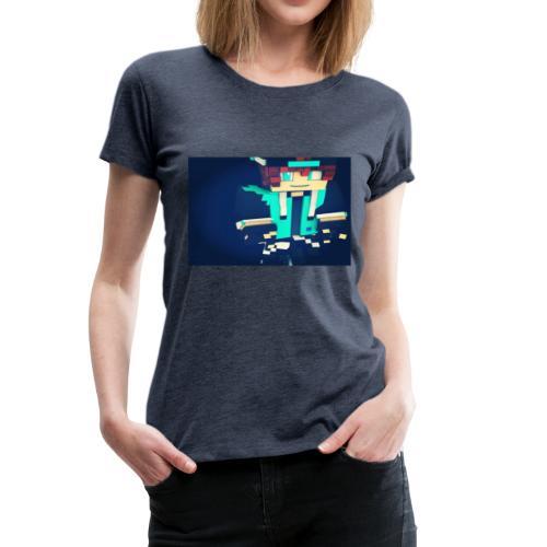 La peau de x9nico en 3D en mode Walden - T-shirt Premium Femme