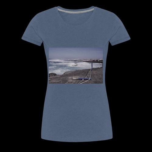 Poller muede - Frauen Premium T-Shirt