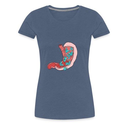 Schmetterlinge im Bauch - Frauen Premium T-Shirt