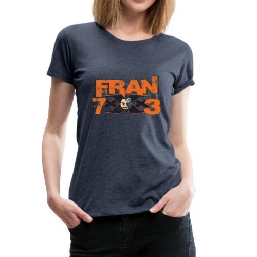 FranxXx73 LOGO - Camiseta premium mujer