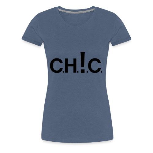 chic new black - Koszulka damska Premium