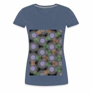 Floral illusion - Women's Premium T-Shirt
