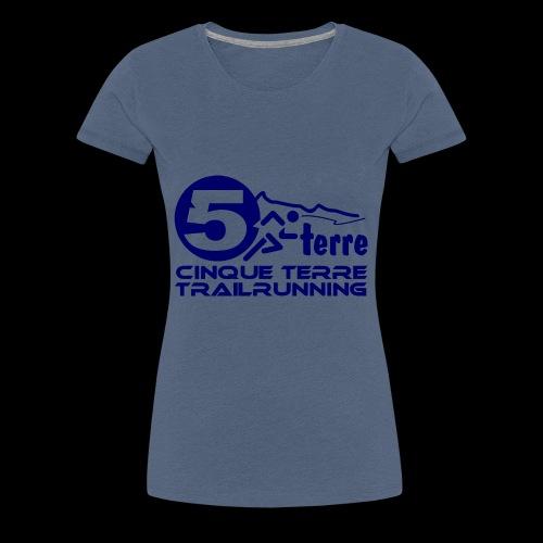 Cinque Terre Trailrunning - Frauen Premium T-Shirt