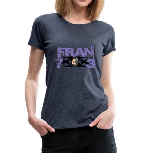 FranxXx73 Morado Twitch - Camiseta premium mujer