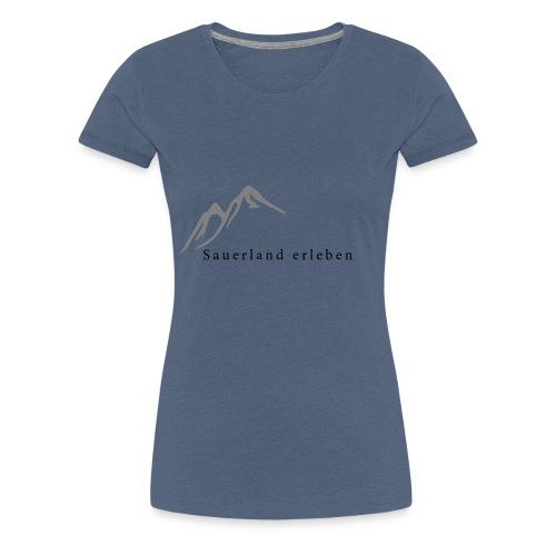 sauerland erleben - Frauen Premium T-Shirt