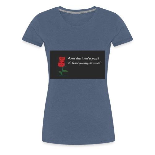 ROSA ROSSA - Maglietta Premium da donna