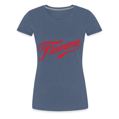 flemme - T-shirt Premium Femme