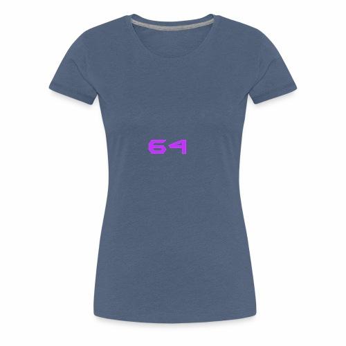64 LOGO - Women's Premium T-Shirt