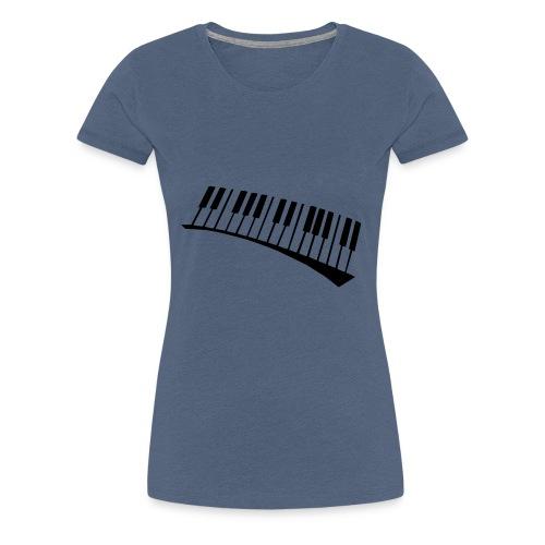 Piano - Camiseta premium mujer