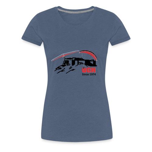 DCH LOGO - Frauen Premium T-Shirt
