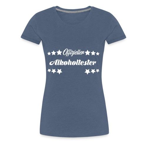 Offizieller Alkoholtester - White - Frauen Premium T-Shirt