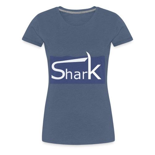 Shark fin - Frauen Premium T-Shirt