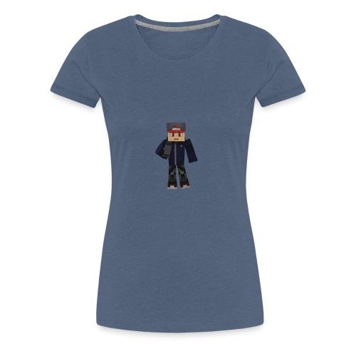 Personnage avec micro - T-shirt Premium Femme