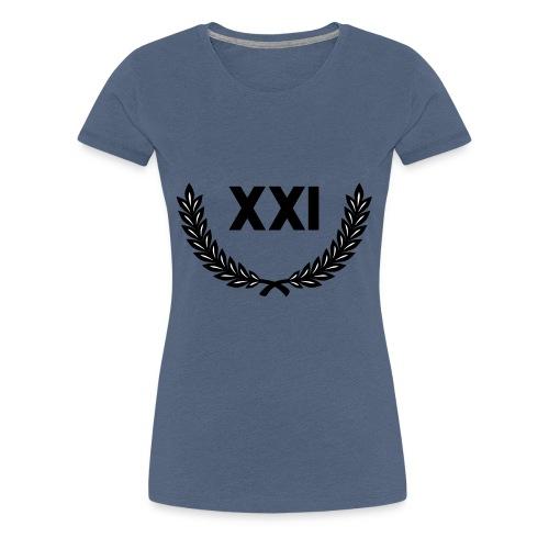 21 Guns - 21 Salutschüsse - XXI moderne Schrift - Frauen Premium T-Shirt