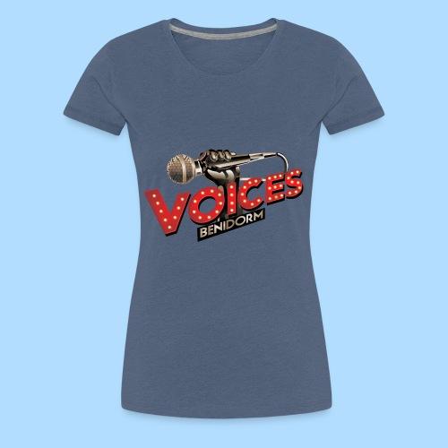Voices Logo - Women's Premium T-Shirt